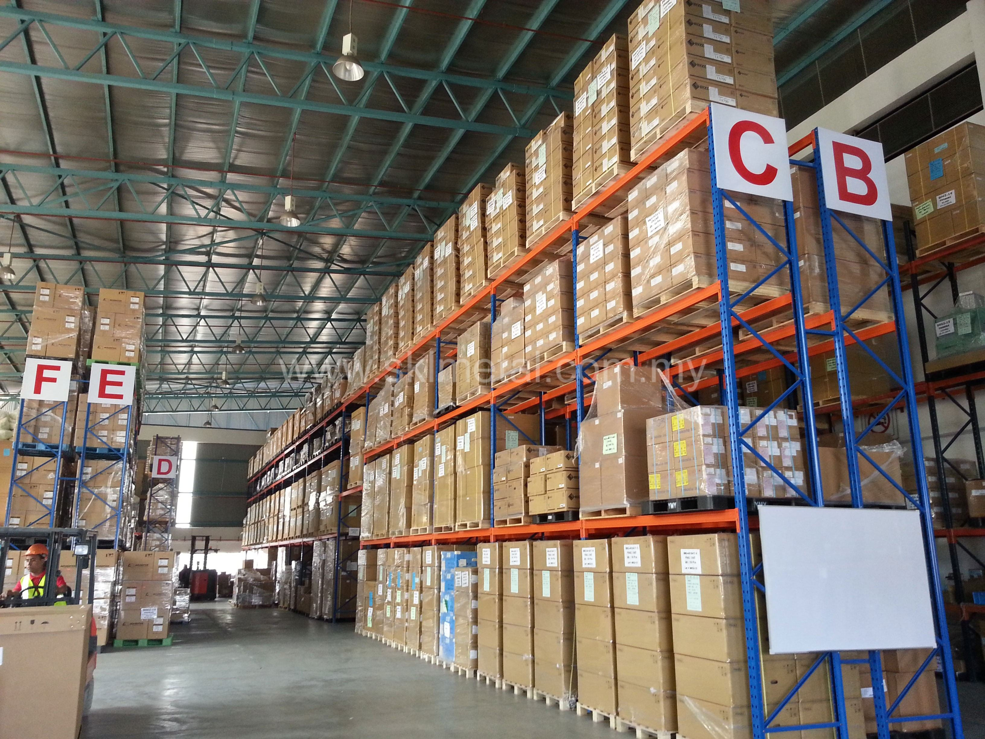 Selective Racking System Selective Pallet Racking